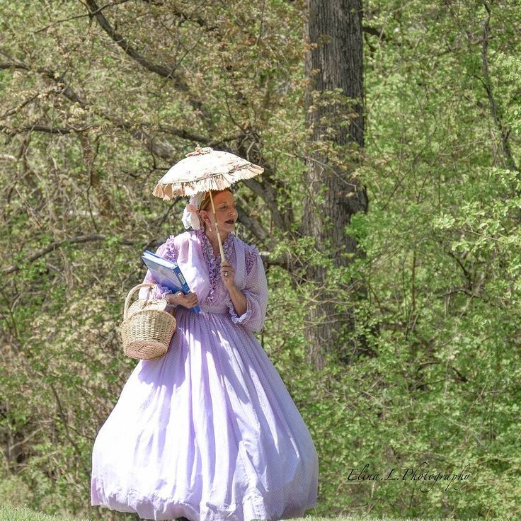 From:  Elina Lenard  @elina.l.photography  http://ift.tt/2lelRX5  This was around Easter time - Lady in Victorian Picnic Dress.  #Victorian #Picnic #Dress #civilwar #umbrella #design #shade #basket #book #gown  #dancer #vintage #old #reenactment #theater #costume #history #elina.l.photography #Womeninphotography #style