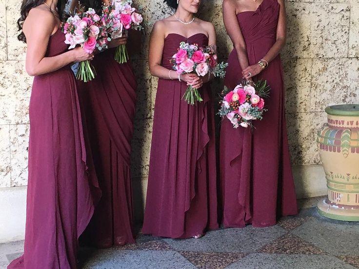 Best 25+ Wine Bridesmaid Dresses Ideas On Pinterest