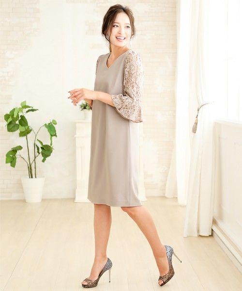 e294c1623cf9b ZOZOTOWN GIRL(ガール)のドレス「 結婚式・お呼ばれワンピースドレス ...
