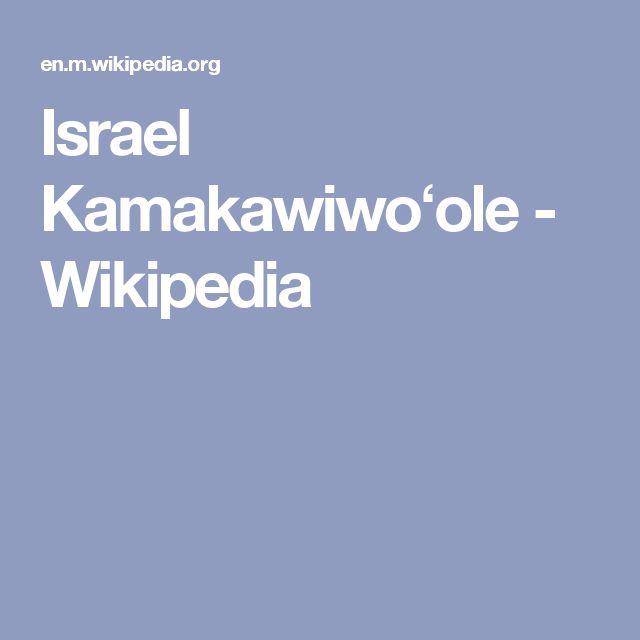 Israel Kamakawiwoʻole - Wikipedia