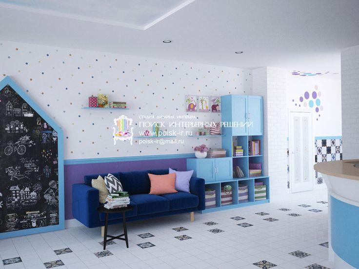 Дизайн детской больницы - фойе и коридор #больница #поликлиника #дизайн #поиск_интерьерных_решений #дизайнмосква #дизайнворонеж #мск #спб #врн