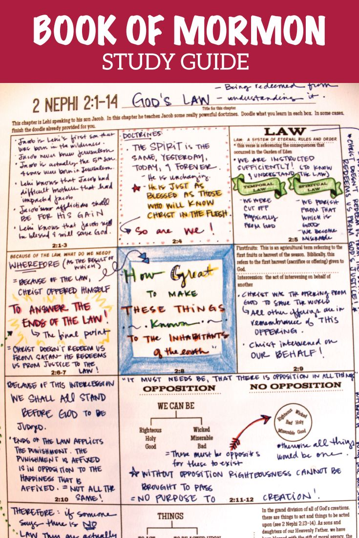 Awesome Book of Mormon Study Guide: Diagrams, Doodles, and Insights!  Scripture journal filled with study pages that are great for every age!  Youth and adults will love this!  This has story maps to help you follow the amazing stories, helps for understanding doctrine, etc.!  Use for personal scripture study or family or class!  #bookofmormon  #scripturejournal #scripturestudy