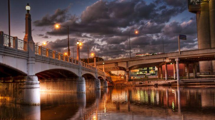 Melbourne  – The Yarra river bridges, South Yarra.   #melbourne  #australia