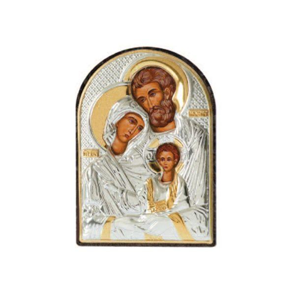 Εικόνα Prince Silvero η Αγία οικογένεια ασήμι 925