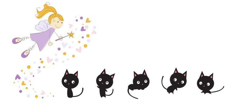 Poesie per bambini – Il gatto Nerino e la fata Lucetta