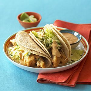 Baja Fish Tacos >> I've personally made this recipe dozens of times. It's a total crowd pleaser. If you're reducing the portions, calculate 1/2 a tilapia filet per person.: Fish Taco Recipes, Fried Fish Tacos, Fish Tacos Makes, Sunsets, Sunset Magazine, Low Fish, Cooking Recipes, Tacos Recipe, Food Drinks