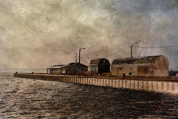 Pier 5. Photo art by WB Johnston, available as prints in a large variety of sizes.