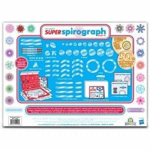 Kahootz: 1016 Spirograph Super Kit 72 PCS The classic interchangeable spiro- tracks let you create your own unique pattern shapes.  http://awsomegadgetsandtoysforgirlsandboys.com/kahootz/ Kahootz: 1016 Spirograph Super Kit 72 PCS