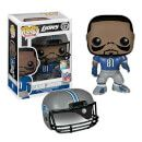 Pop! Vinyl NFL Calvin Johnson Wave 1 Pop! Vinyl Figure 4638 Megatron! Detroit Lions wide receiver and former Georgia Tech standout Calvin Johnson stands 3 3/4-inches tall in Pop! Vinyl Format and comes packaged in a window display box. Calvin Johnson comes in  http://www.MightGet.com/january-2017-11/pop!-vinyl-nfl-calvin-johnson-wave-1-pop!-vinyl-figure-4638.asp