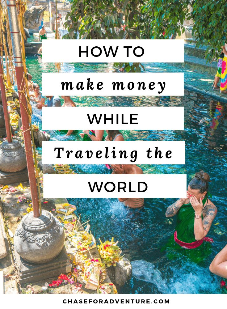 Make Money While Traveling the World – Sassy Wildflower