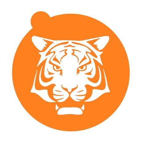 3 pochoirs g teau tigre de fort boyard fort boyart - Dessin fort boyard ...
