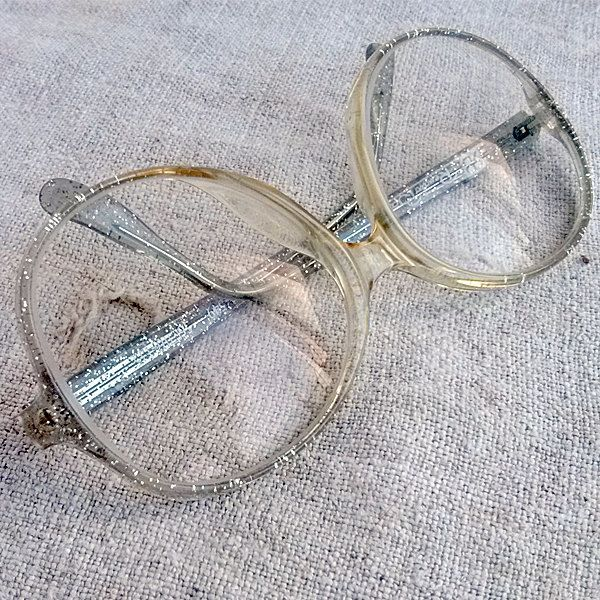 Vintage Schone Brillen Alte Lesebrille Ubergrosse Brillengestell