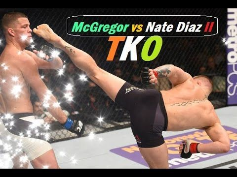 This is how Conor Mcgregor  going to  TKO Nate Diaz in UFC 202