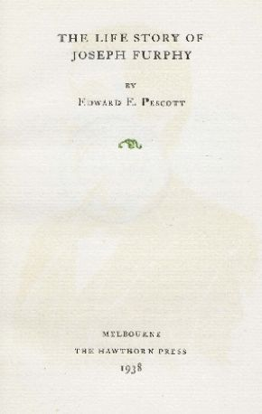 The life story of Joseph Furphy, 1938.  http://encore.slwa.wa.gov.au/iii/encore/record/C__Rb1230855__SThe%20life%20story%20of%20Joseph%20Furphy%20__Orightresult__U__X6?lang=eng&suite=def