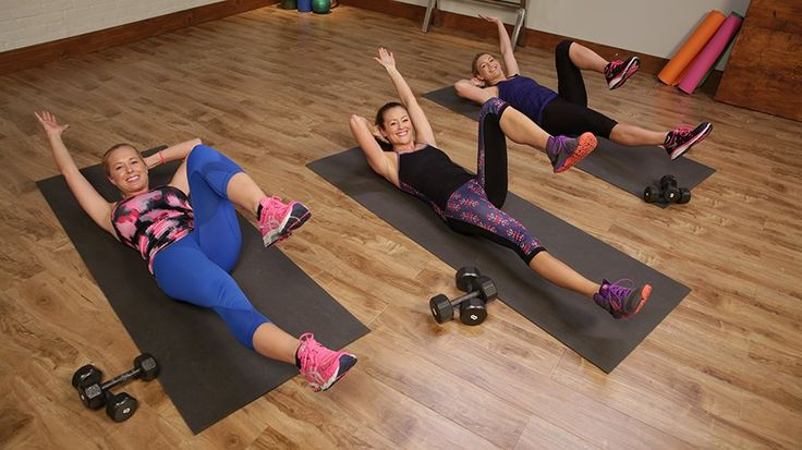 Work Your Entire Body Without Having to Get Off the Floor: Feeling a little low engergy?
