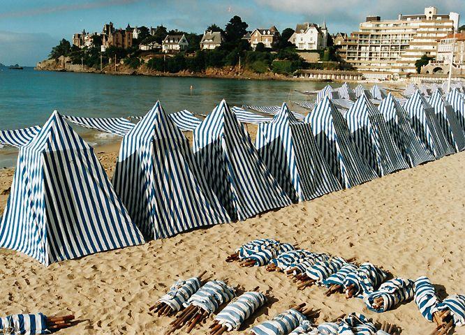 Γγρ│ Plage de Dinard, Bretagne.