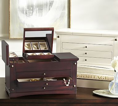 Ultimate Extra-Large Jewelry Box #potterybarn