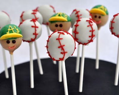 Beki Cook's Cake Blog: Take Me Out to the Ball Game - Cake Pops