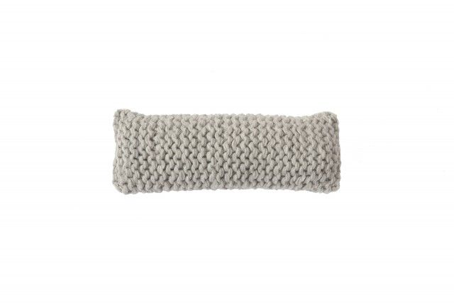 Cushion Wooly - CHUNKY (light grey) > http://zilalila.com/cushion-wooly-chunky-78 #Zilalila #Cushion #Wool #Knitted #Chunky #Fine #Kids #Label #Interior #Nepal #Fairtrade #Friendly #Conscious #Bedspread #Eco #Children #Grey #White #Brown #Pink #Anthracite