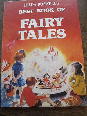 Hilda Boswell - Best Book of Fairy Tales - c1960