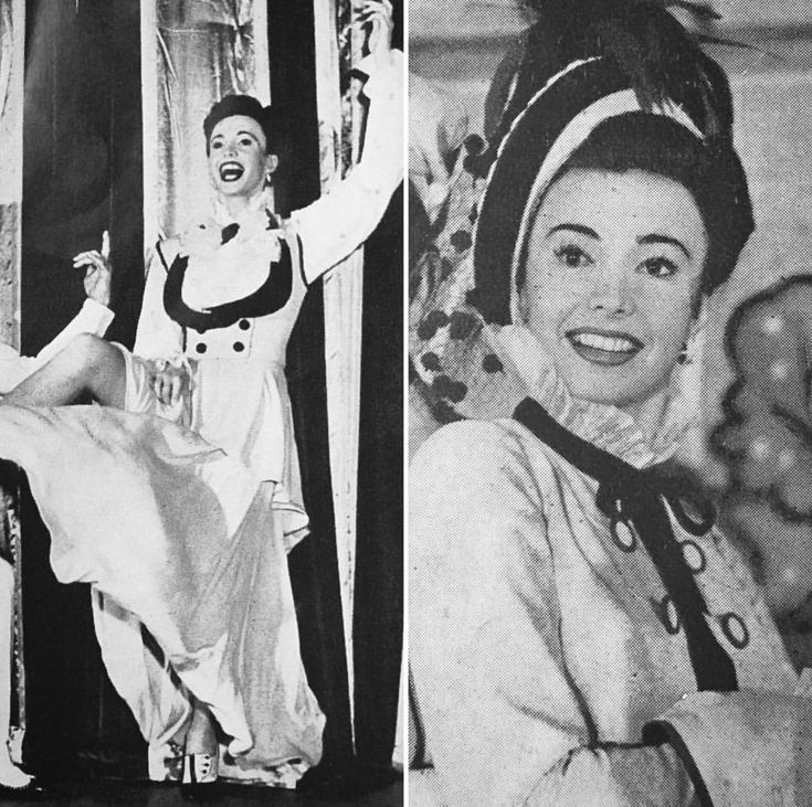 "Audrey Meadows acting in the show ""High Button Shoes"" about 3 years before she became Alice Kramden."