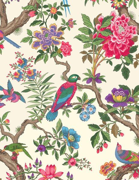Spring Trend: Birds: Fontainebleau wallpaper by Cole & Son