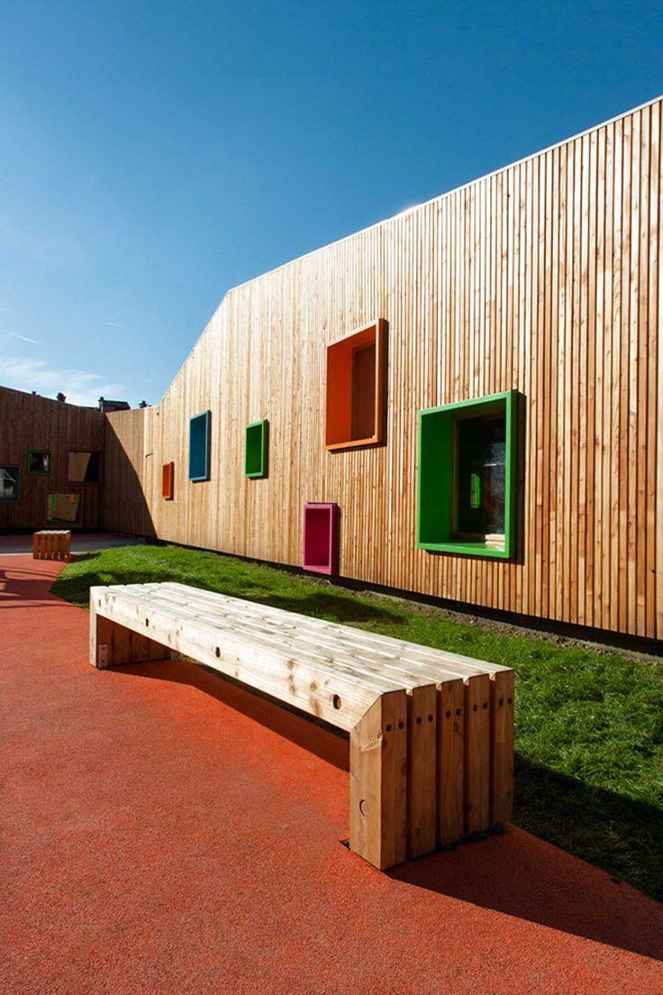 gallery of new building for nursery and in zaldibar estudio urgari 1