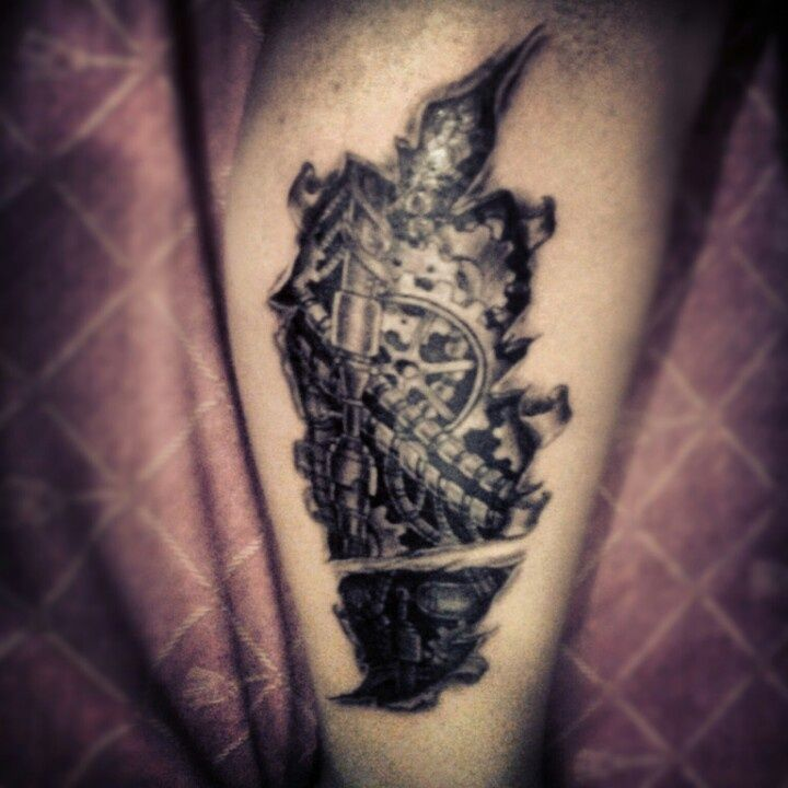 75 Best Biomechanical Tattoo Designs Meanings: 34 Best Images About Biomechanical Tattoos On Pinterest