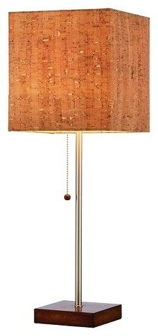 Adesso Sedona Table Lamp - Silver