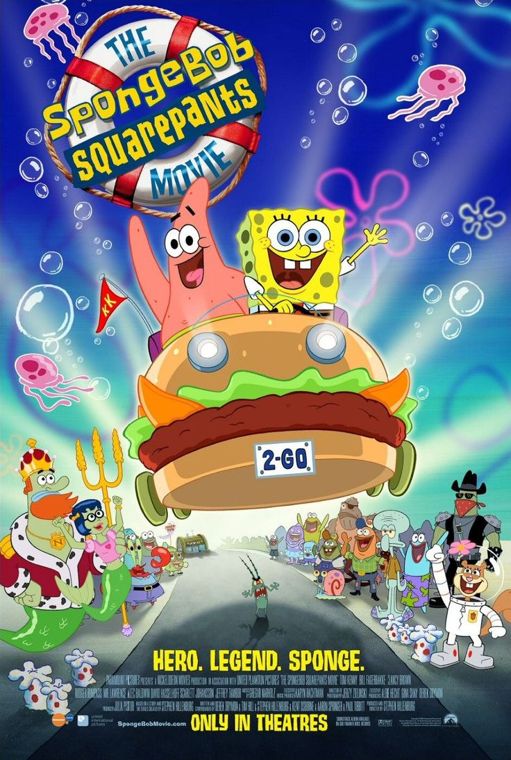 Return to the main poster page for The SpongeBob SquarePants Movie