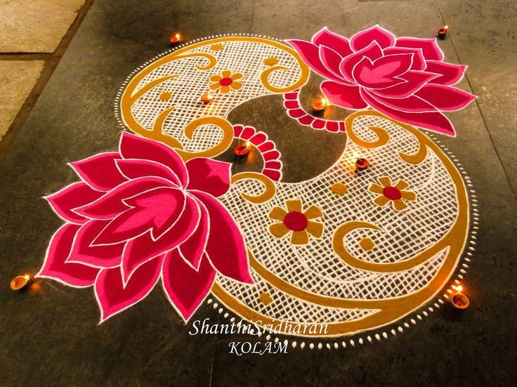 #kolam#pink#lotus