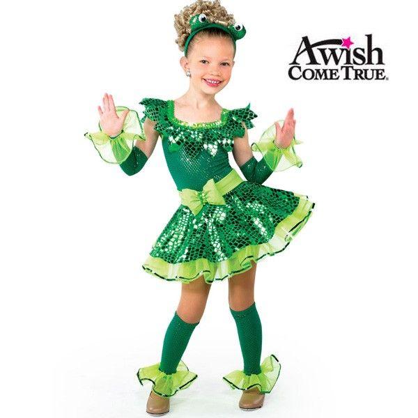Un deseo hecho realidad Danza 2017: Ser Verde - Carácter traje de la danza
