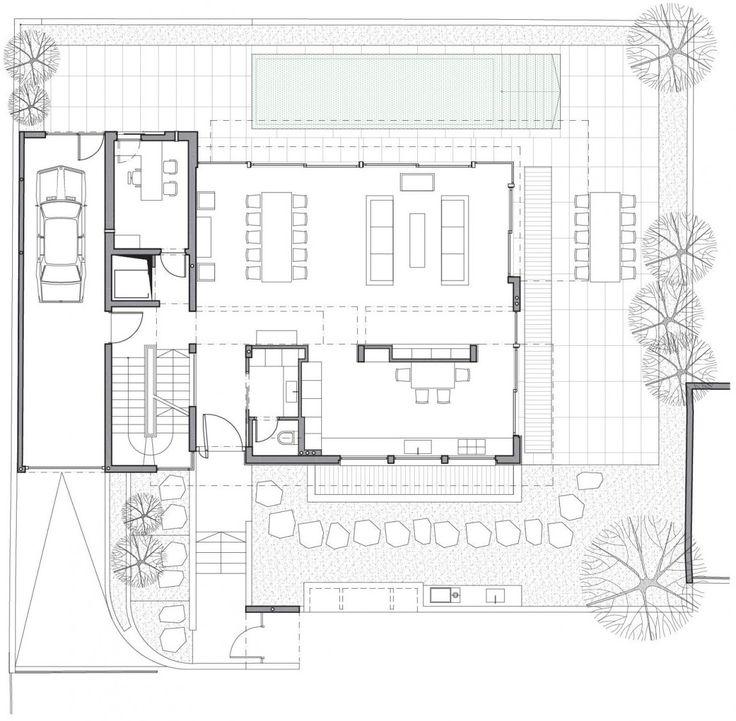 93 besten living floor plan bilder auf pinterest haus for Minimalistisches haus grundriss