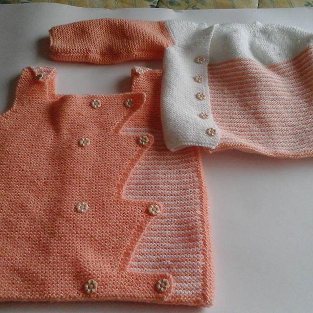 #tejidoamano #seismeses #ropadeguagua #knitting #venta #coolbaby #baby #bebe