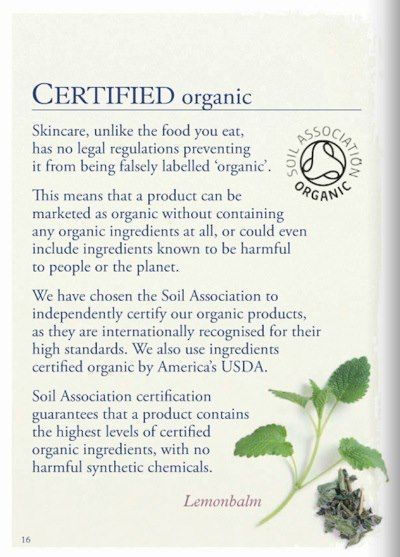 Neal's Yard Remedies...ethical and organic, first certified organic health and beauty company
