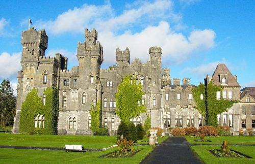 Ashford Castle - this is a hotel where you can actually stay in Ireland!! If i ever go to Ireland im staying here!! :)