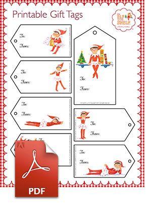 Elf On The Shelf: Christmas Labels, Christmas Holidays, Christmas Elf ...
