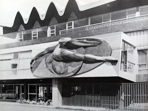 Guillermo rossell y lorenzo carrasco oficinas de automex for El mural de siqueiros