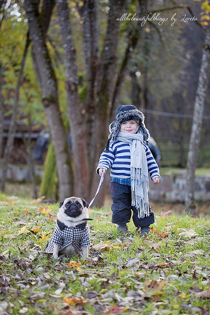 Would love to do a pic Iike this  with our pug one day.