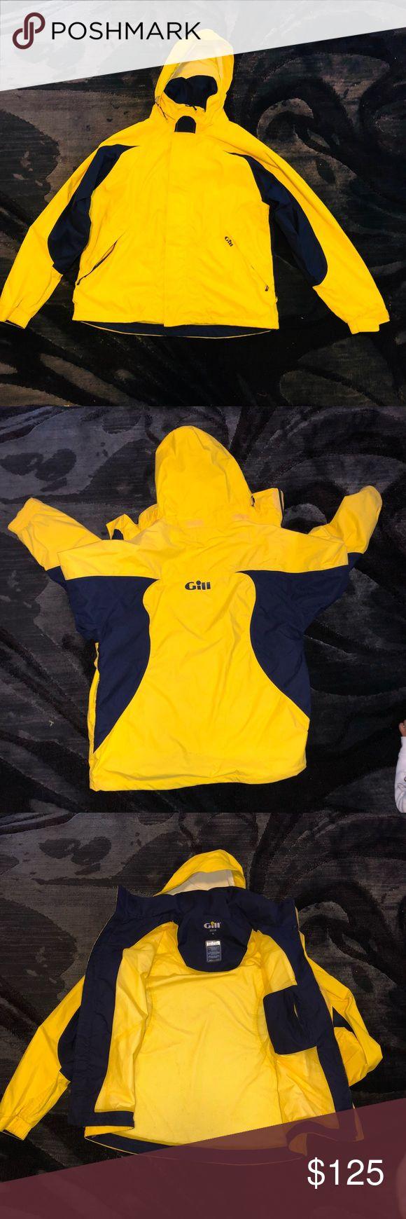 🌤GILL MENS COAST LITE JACKET🌧 Good condition  100% nylon Any question just ask GILL Jackets & Coats Raincoats