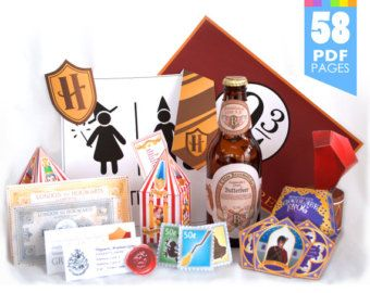 ULTIMATE Harry Potter Party Package More Than 58 by Printyca