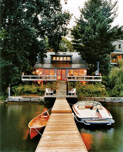Lake Houses Design, Pictures, Remodel, Decor and Ideas - page 21
