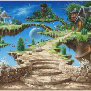 Dream Island Fantasy World Creative Wallpaper | dream island fantasy world creative wallpaper 1080p, dream island fantasy world creative wallpaper desktop, dream island fantasy world creative wallpaper hd, dream island fantasy world creative wallpaper iphone