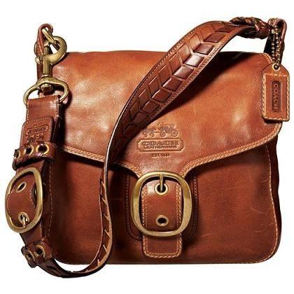 Coach Bleecker Leather Large Flap Handbag ~ Really liking this bag for the Fall Season.