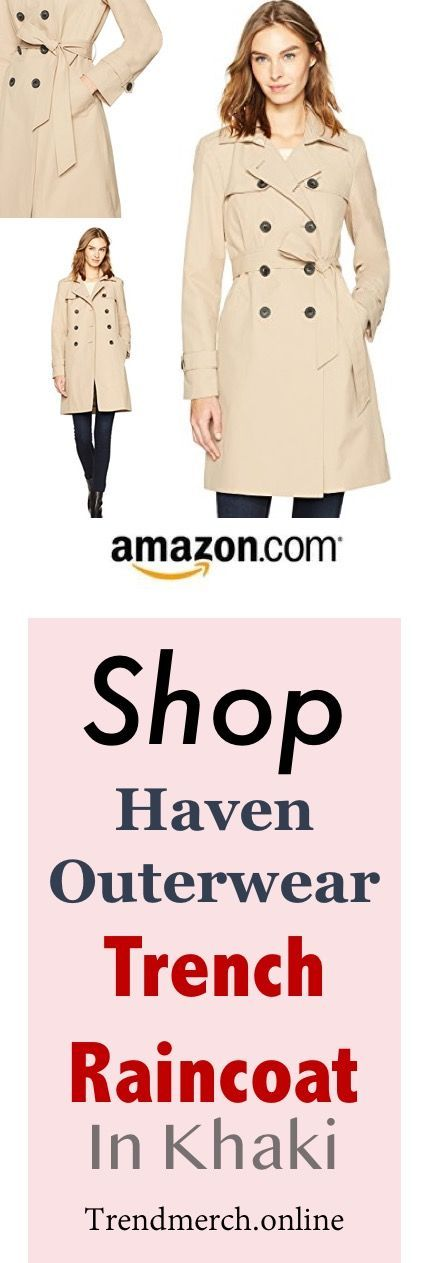 Are you looking for an elegant and timeless addition to your style for the rainy season? I introduce you to Haven Outerwear Trench Raincoat, a perfect fit for your rainy day stylish needs. http://trendmerch.online/index.php/2018/02/27/shop-haven-outerwear-trench-raincoat-in-khaki/ #trenchcoat #raincoat #haven #outerwear #style #fashion #women #RaincoatsForWomenTrench