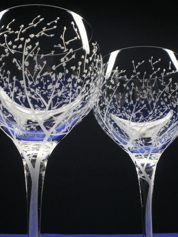 39 best images about cricut etching frosting on - Verres a vin originaux ...