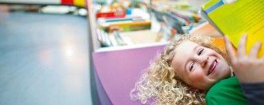 Zit je op de basisschool? Kijk dan eens op het Leesplein voor kinderen. Vol met tips en info!