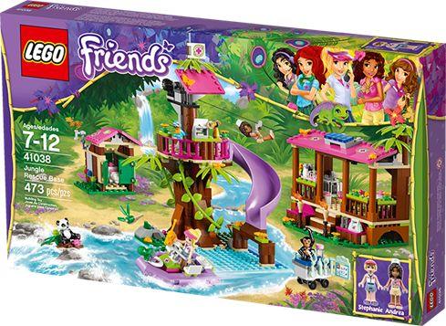LEGO FRIENDS 41038 Redningsstation i junglen