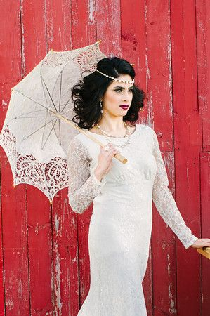 Stunning South Asian bride featured in Lavish Dulhan, photo shoot at Cambium Farms.