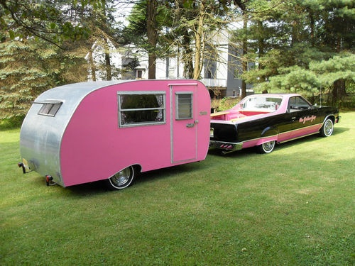 Luxury New Retro Style Campers